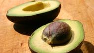 A ripe avocado
