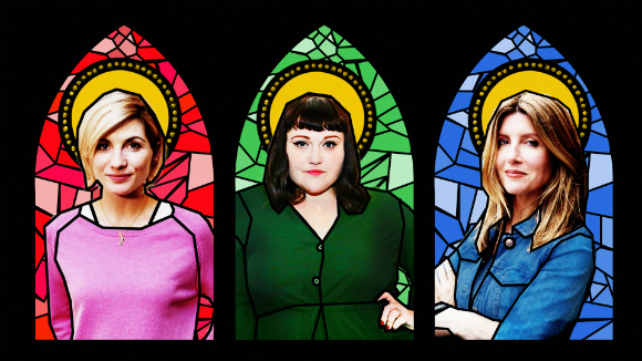 Jodie Whittaker, Beth Ditto and Sharon Horgan