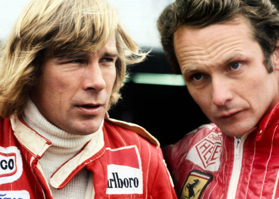Hunt vs Lauda on iplayer
