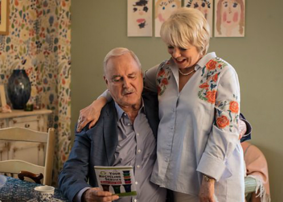 John Cleese and Alison Steadman
